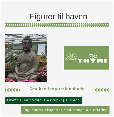 Figurer til haven Køge