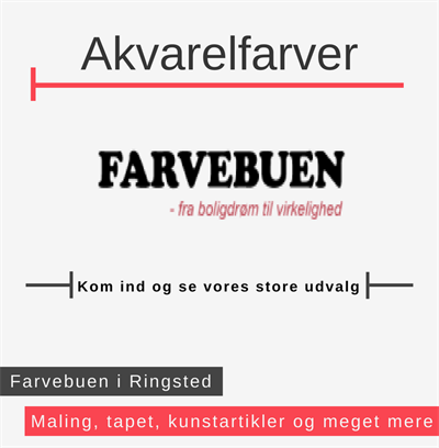 Akvarelfarver Ringsted