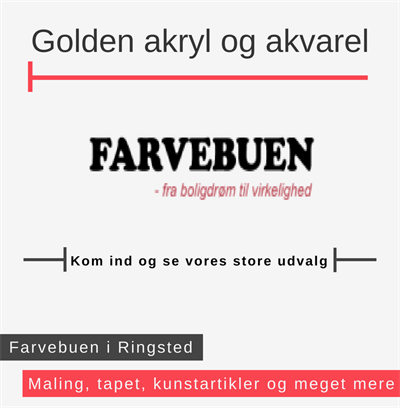 Golden akrylfarver Ringsted