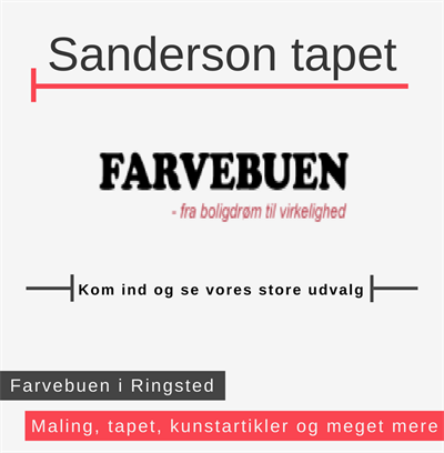 Sanderson tapet Ringsted