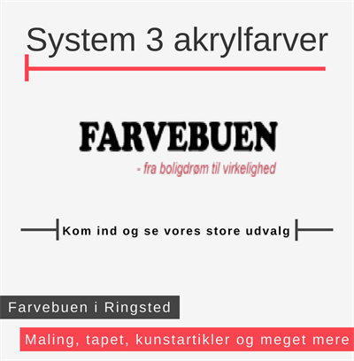System 3 akrylfarver Ringsted