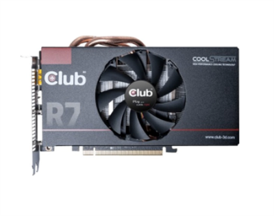 Club 3D Radeon R7 370 2GB 2xDVI/HDMI/DP, Ringsted
