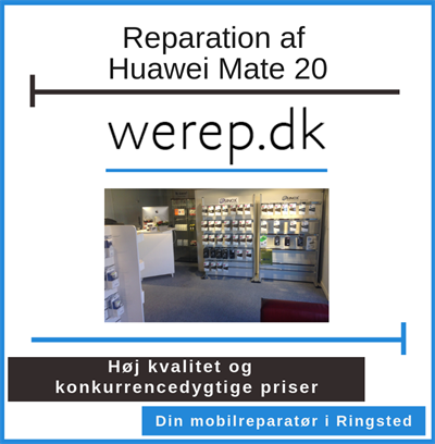 Reparation af Huawei Mate 20 Ringsted