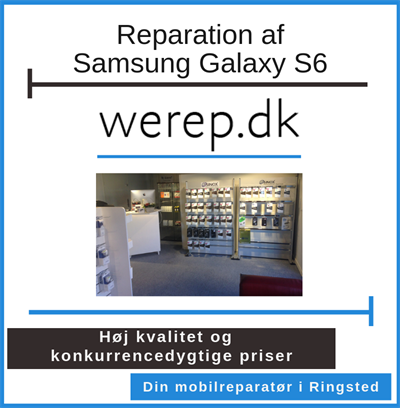 Reparation af Samsung Galaxy S6 Ringsted