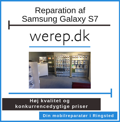 Reparation af Samsung Galaxy S7 Ringsted