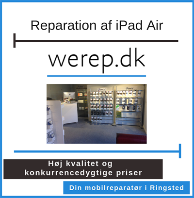 Reparation af iPad Air Ringsted