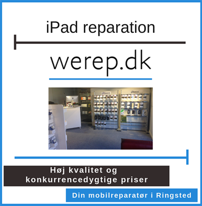 iPad reparation Ringsted
