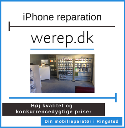 iPhone reparation Ringsted