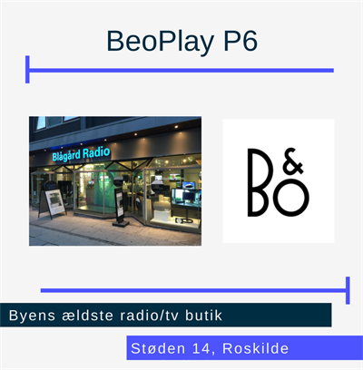 Beoplay P6 Roskilde