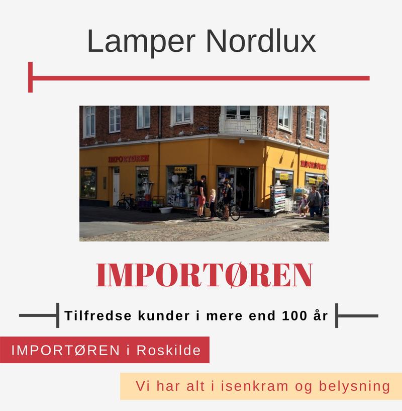 Nordlux Lamper Hos Importøren I Roskilde Handl Lokaltdk